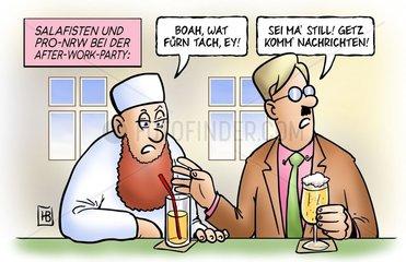 Salafisten_und_Pro-NRW