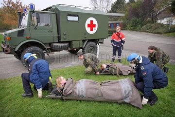 Katastrophenhilfe-Uebung Marine