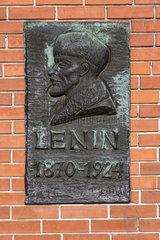 Lenin Gedenktafel