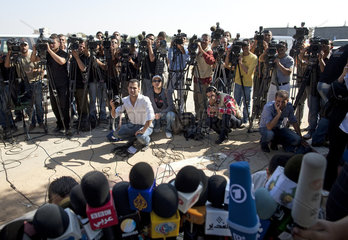 Journalisten in Gaza