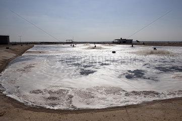 Klaerwerk in Gaza