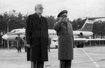 Stoltenberg + Schaposchnikow