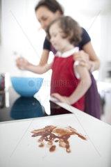 Pudding kochen mit Mama