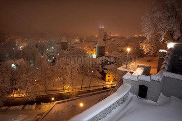 Tallinn im Schnee
