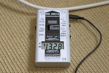 Elektrosmog: Magnetfeldbelastung