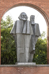 Marx + Engels