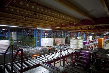 Verteilzentrum des dm Markt im Weilerswist