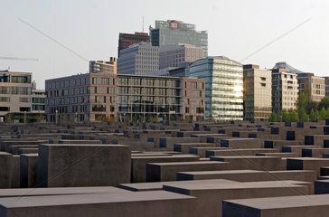 Berlin  Denkmal fuer die ermordeten Juden in Europa