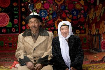 Tashkorgan  Kirgisisches Ehepaar | Tashkorgan  Kirghizian married couple