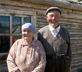 Mongolian couple in Hemu