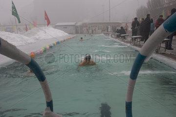 Urumqi  Eisbaden