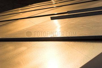 Berlin  Photovoltaische Zellen