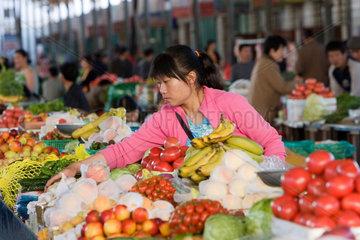 Markt in Karamay | market in Karamay