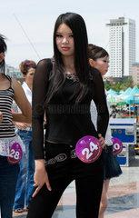 Misswahlen in Urumqi - Miss Xinjiang 2006