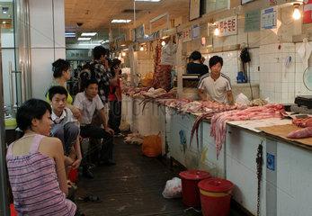 Markt in Tiantangdongmen