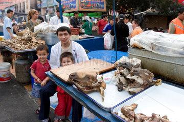 Markt beim Grand Bazar in Urumqi | big bazar