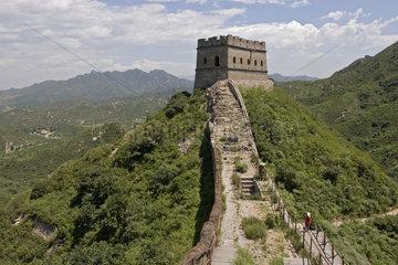 Jinshanling   Ruinen von der Grossen Chinesischen Mauer