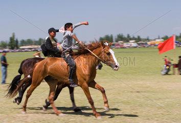 Pferderennen in Gouzigou | traditional horse race