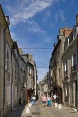 France  Loire valley  Blois  Rue Saint Lubin