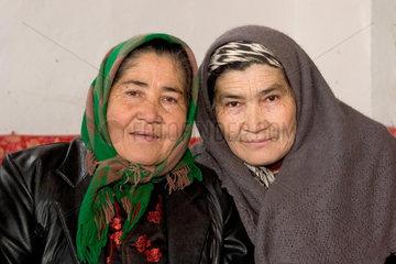 Kuqa (Kuche)  alte Frauen | Kuqa (Kuche)  old women