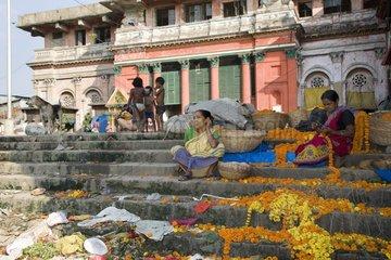 Kolkata  Leben am Hooghly River
