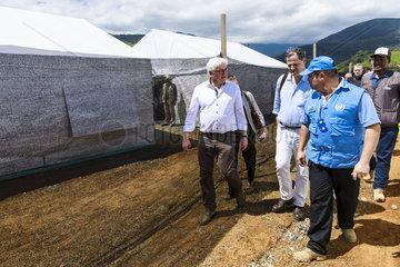 BM Steinmeier besucht Kolumbien