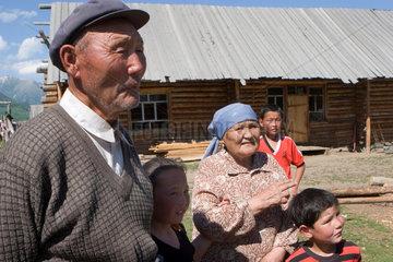 Mongolian couple in Hemu