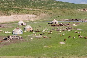 Kazakh village
