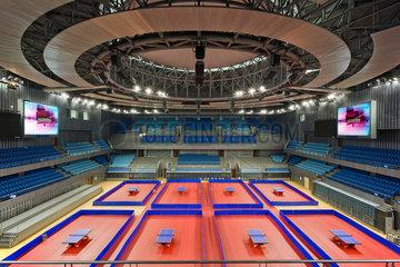 Tischtennis-Austragungsort  Universitaet Peking