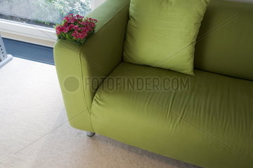 couch with sofa cover