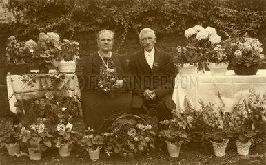 Goldene Hochzeit  Ehepaar  um 1939