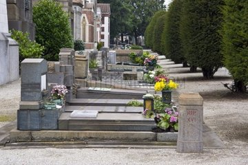 Cimitero Monumentale  Zentralfriedhof  Mailand  Lombardei  Italien  Europa