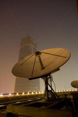 Peking  Satellitenschuessel