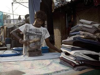 Mumbai  Waschpaltz Dhobi Ghat