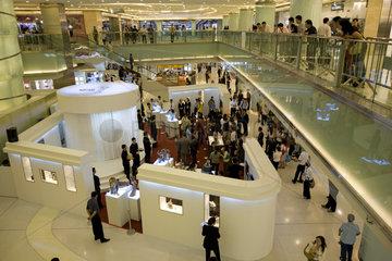 Beijing  Einkaufszentrum  Innenansicht