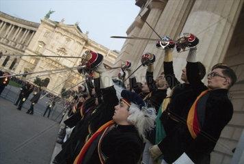Totengedenken der Burschenschafter am 8. Mai