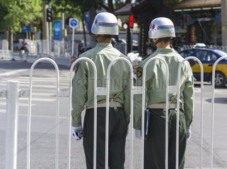 China  Beijing  Policemen