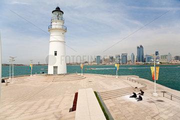 Qingdao  Hafenansicht