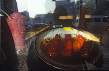 Shanghai  Essen aus Plastik