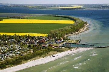 Rapsfelder bei Timmendorf in Mecklenburg-Vorpommern