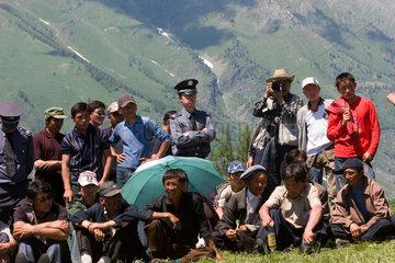 Mongolisches Fest nahe Hemu | Mongolian celebration