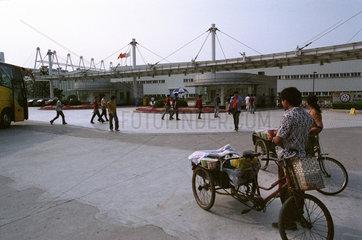 Volkswagen Fabrik in Shanghai