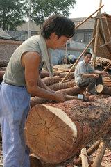 Traditioneller Holzbau