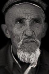 asian portrait  xinjiang  china