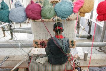 Tibetische Weberei | Tibetan weaving company