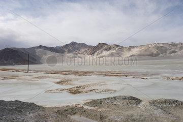 Duenenlandschaft zwischen Kashgar und Tashkorgan | dune landscape among Kashgar and Tashkorgan