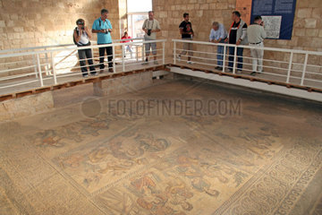 Cyprus  Paphos  Mosaics  House of Aion.