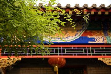 Peking  Hotel Cote Cour