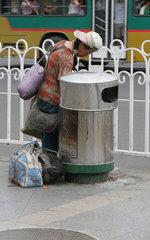 Beijing Obdachloser