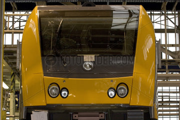Produktion von Schienenfahrzeugen bei Bombardier